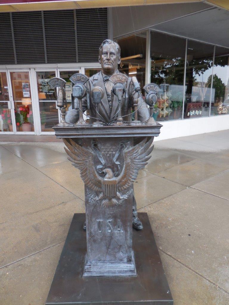 Presidents Statues In Rapid City South Dakota
