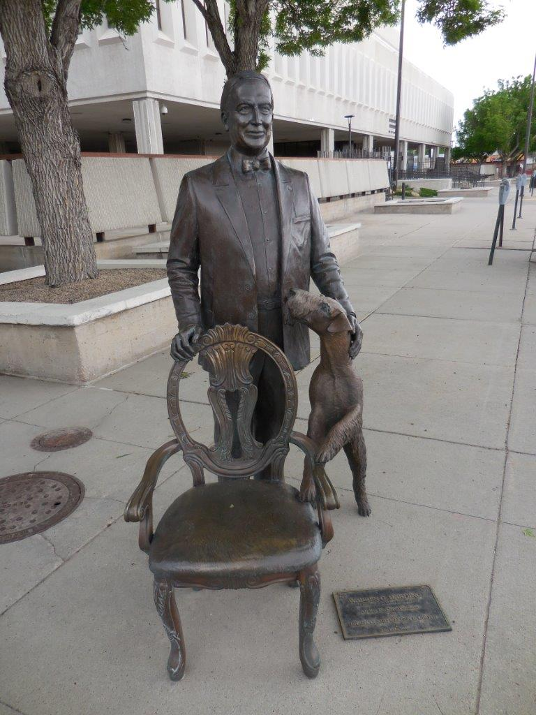 Presidents Statues In Rapid City South Dakota